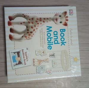 SOPHIE THE GIRAFE BOOK AND MOBILE SET - SEALED